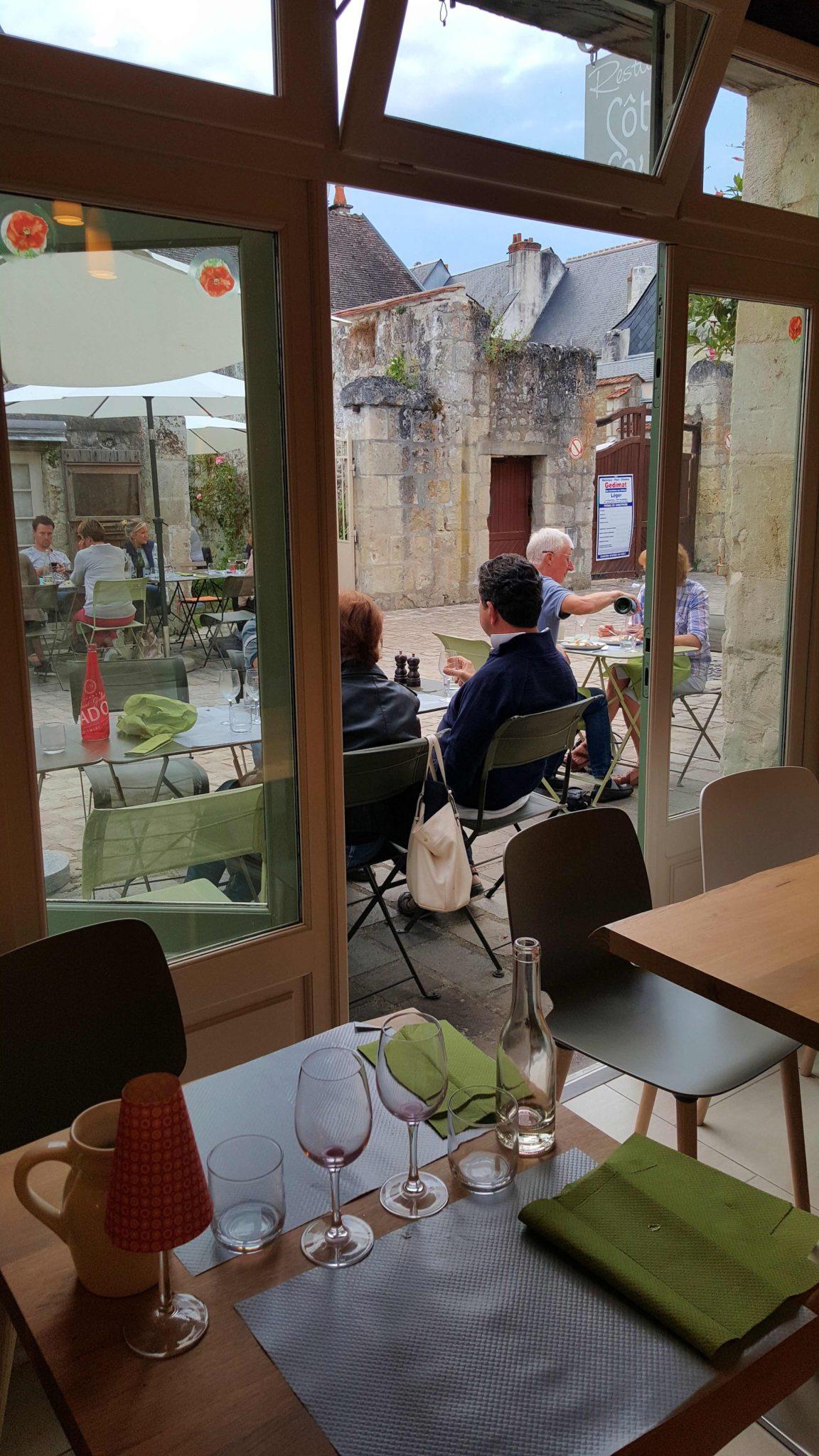 restaurante c 244 t 233 cour em azay le rideau vale do loire fran 231 a viaje comigo