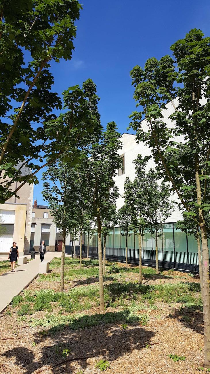 Centro de Criação Contemporânea Olivier Debré, Tours, França © Viaje Comigo