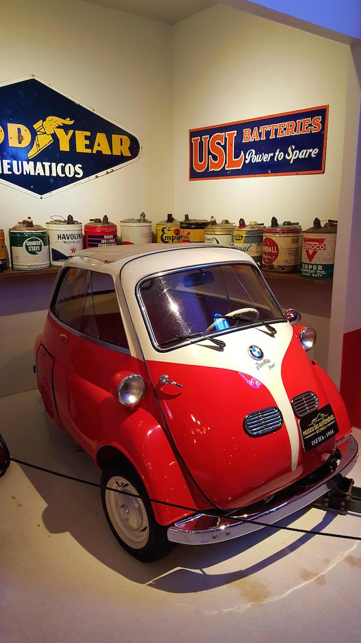Isetta - Museu do Automóvel de Canela, Rio Grande do Sul, Brasil © Viaje Comigo