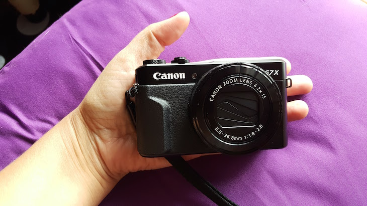 Canon PowerShot G7 X Mark II