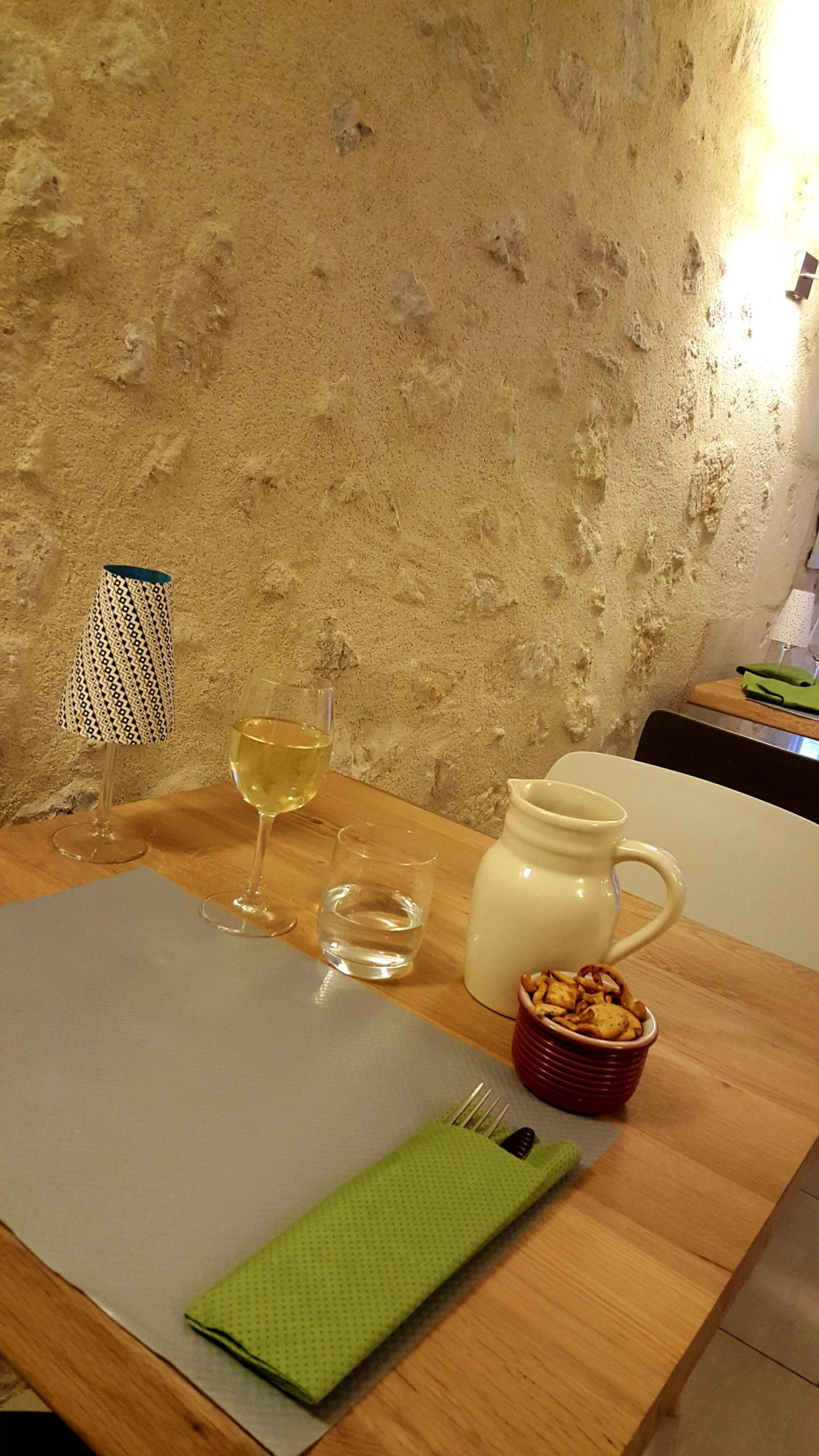Restaurante Côté Cour, Azay-le-Rideau, França © Viaje Comigo