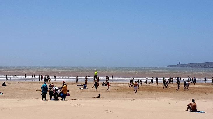 Praia de Essaouira © Viaje Comigo
