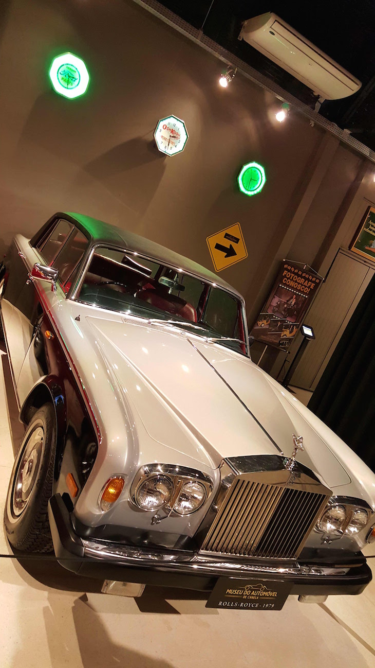 Rolls Royce - Museu do Automóvel de Canela, Rio Grande do Sul, Brasil © Viaje Comigo