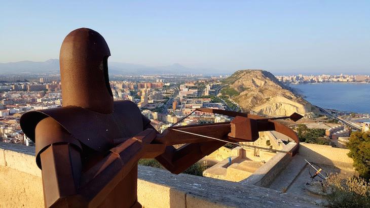 Castelo de Santa Bárbara -Alicante - Espanha © Viaje Comigo