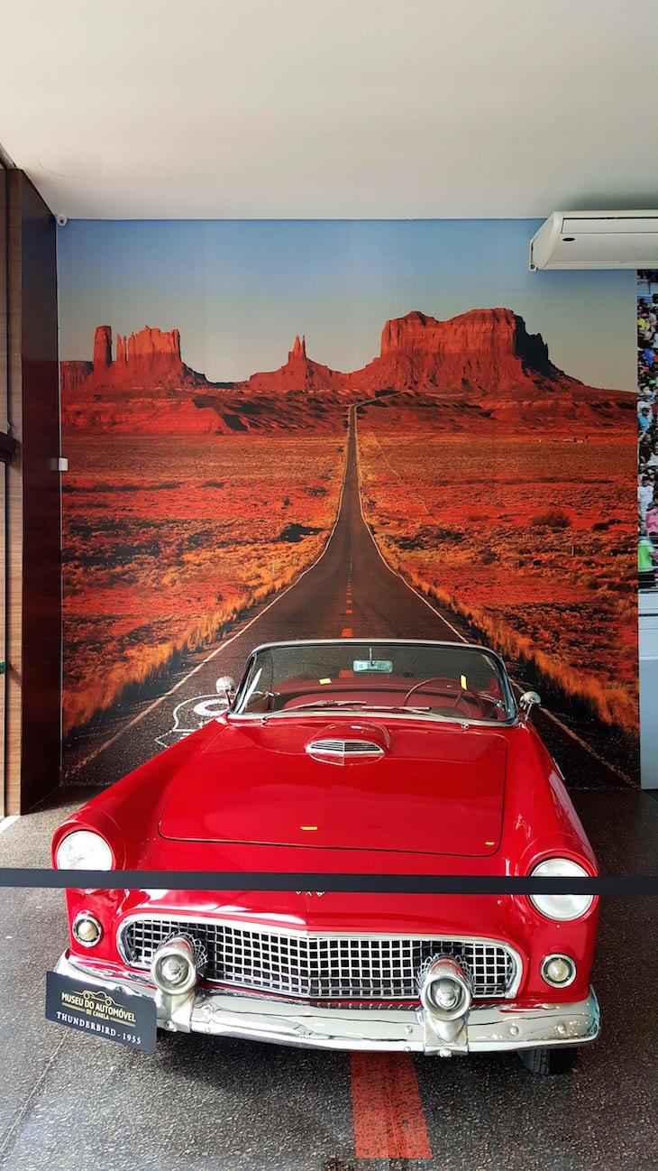 Thunderbird no Museu do Automóvel de Canela, Rio Grande do Sul, Brasil © Viaje Comigo