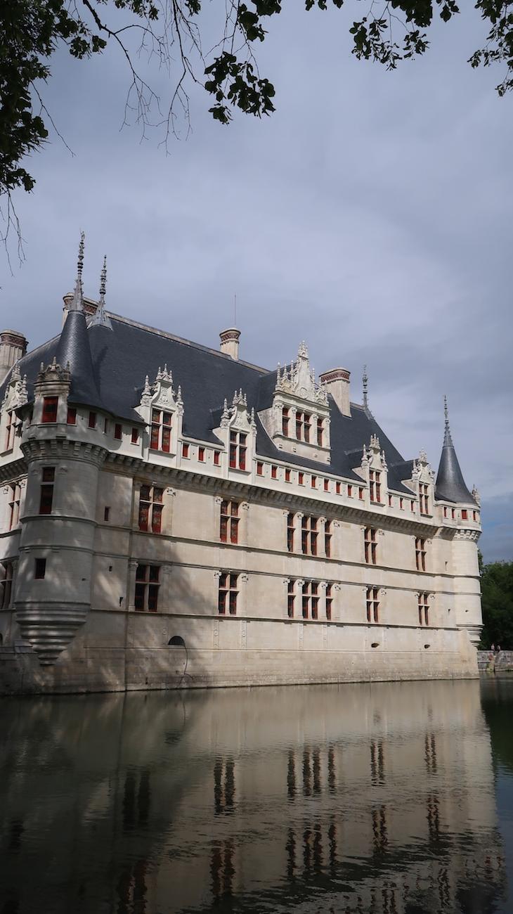 Château d'Azay-le-Rideau, Vale do Loire, França © Viaje Comigo