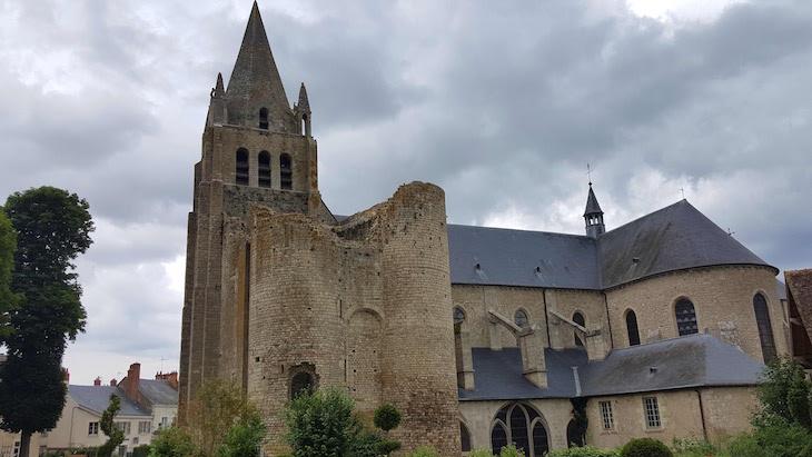 Colegiada de Meung-sur-Loire, Vale do Loire, França © Viaje Comigo