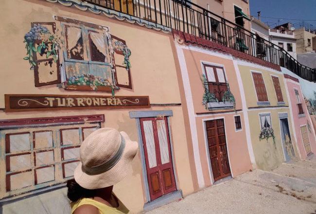 Mural na Travessia do Mouro Traidor- Jijona - Espanha © Viaje Comigo