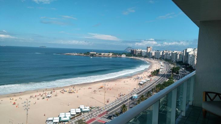 Varanda Pestana Rio Atlântica, Copacabana, Rio de Janeiro, Brasil © Viaje Comigo