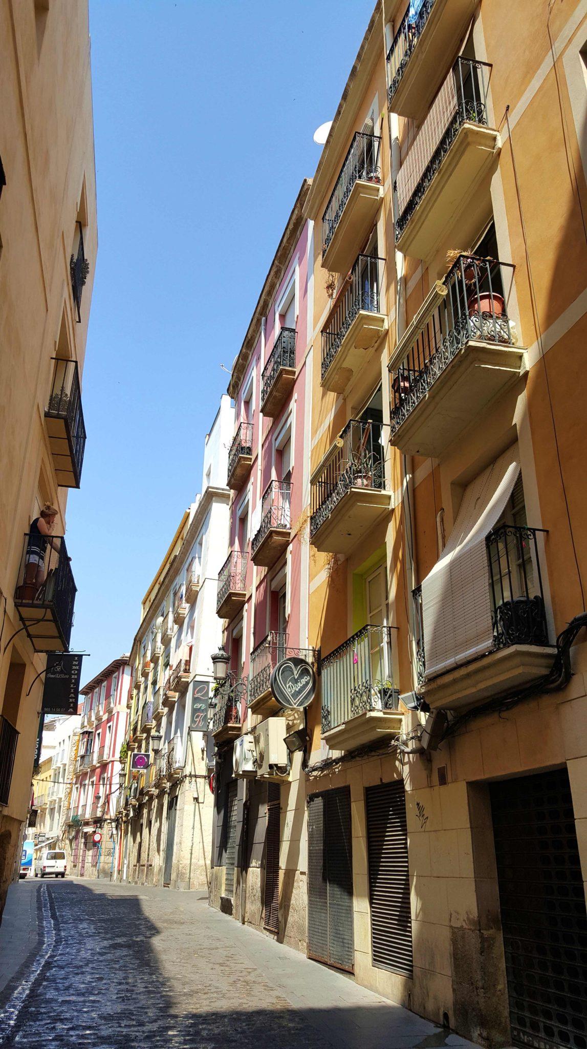 Calle de Montengon - Alicante - Espanha © Viaje Comigo
