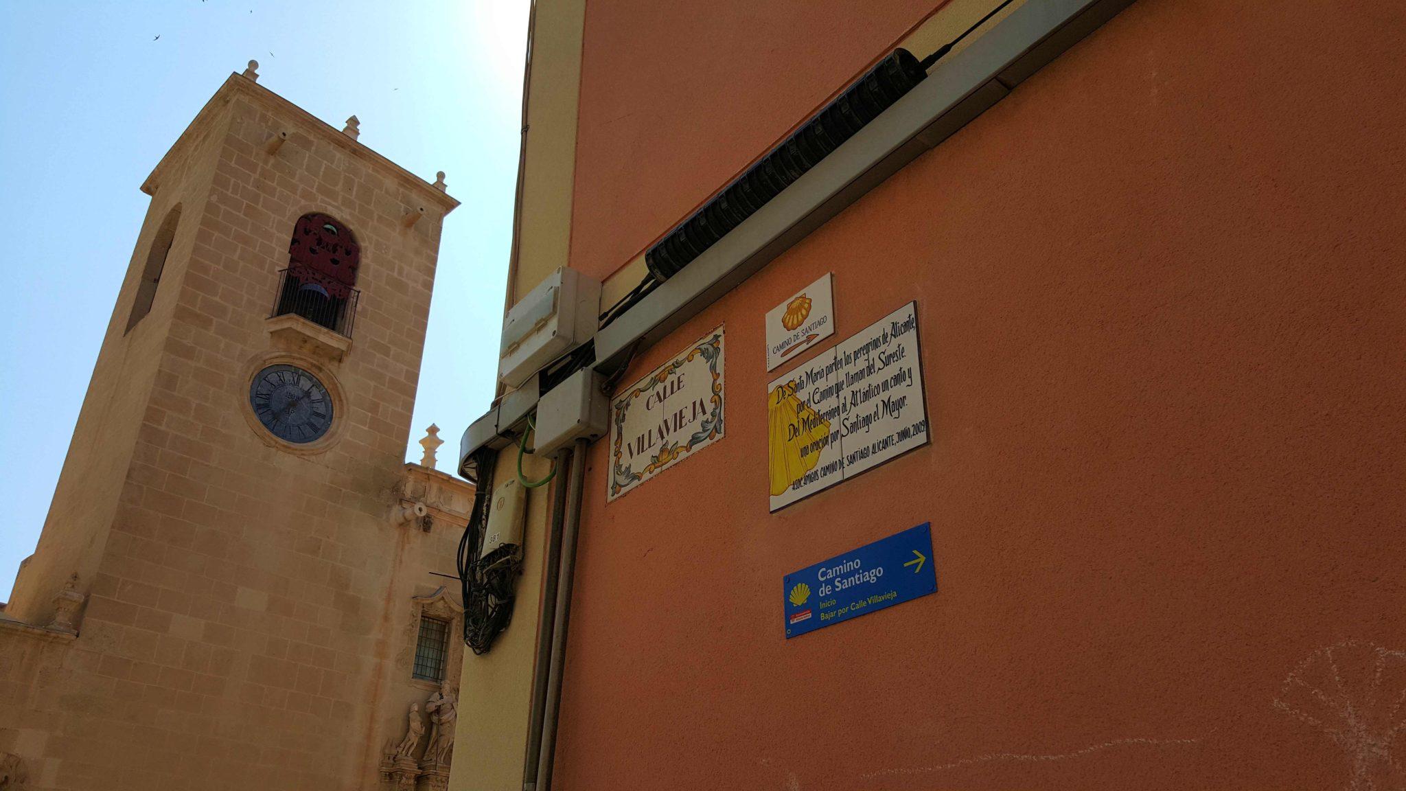 Caminho Santiago - Alicante - Espanha © Viaje Comigo