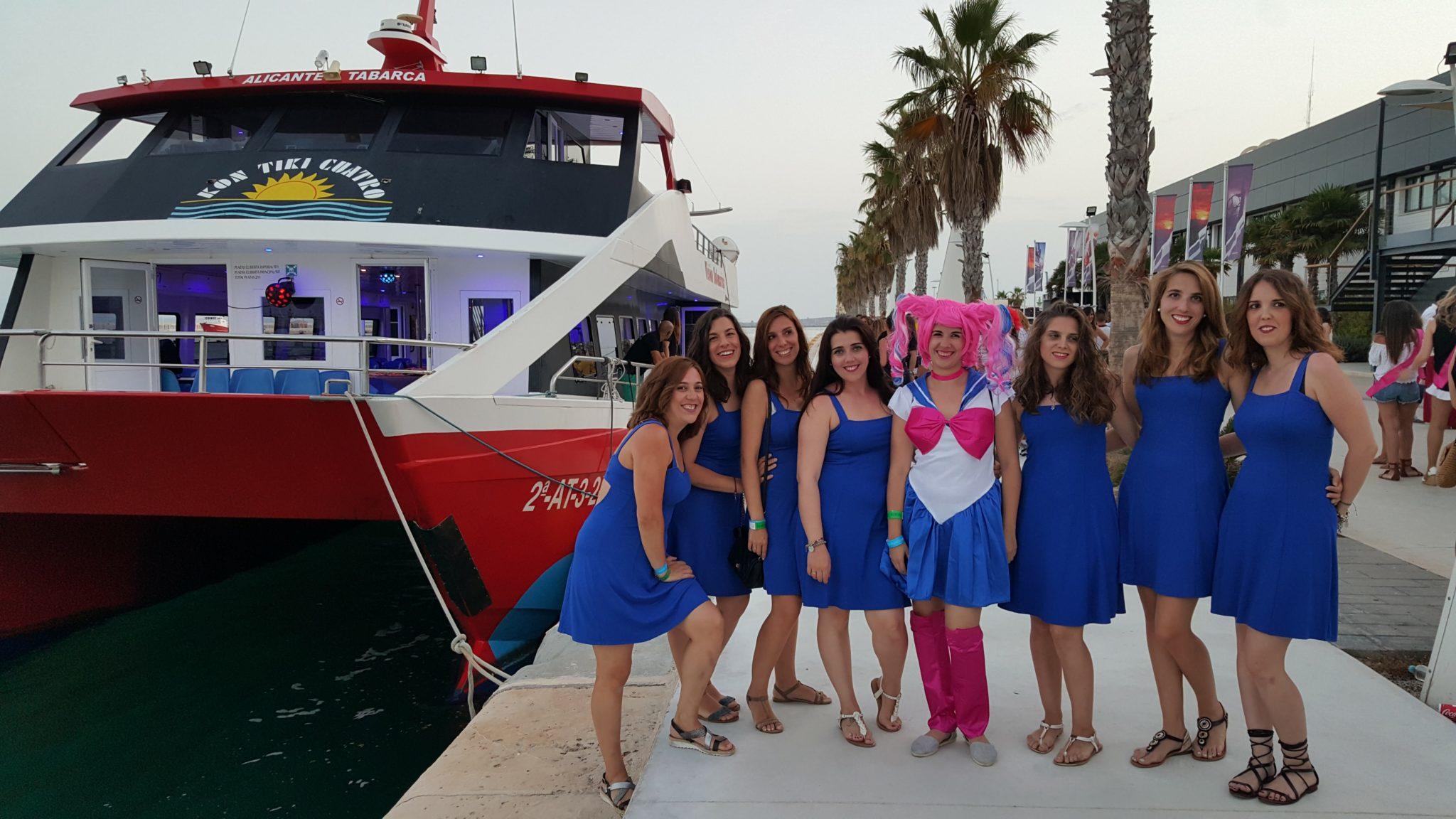 Despedidas de solteira em Alicante - Espanha © Viaje Comigo