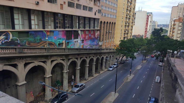 Escadaria do Borges - Porto Alegre - Brasil © Viaje Comigo