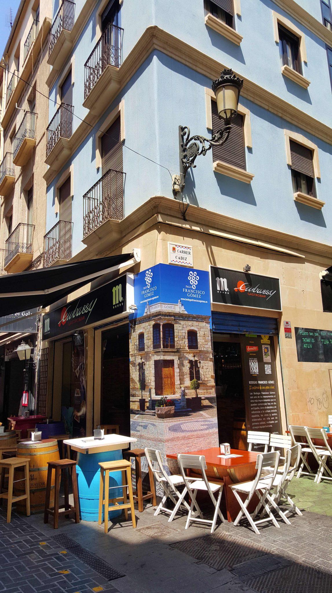Esplanadas em Alicante - Espanha © Viaje Comigo