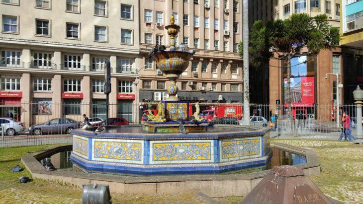 Fonte Talavera de La Reina - Porto Alegre - Brasil © Viaje Comigo