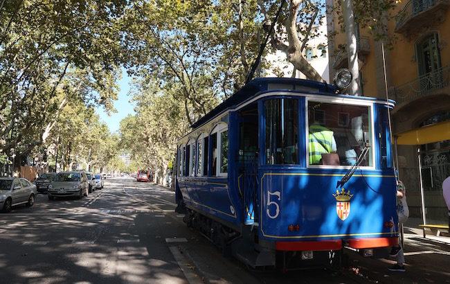 Tramvia Blau - Barcelona © Viaje Comigo