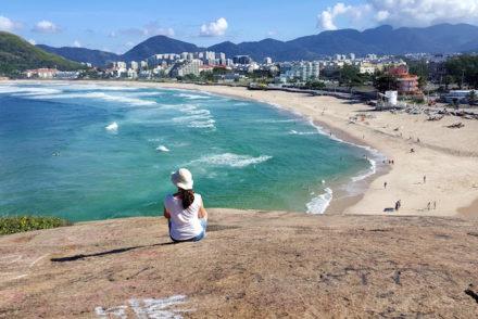 Na Pedra do Pontal - Rio de Janeiro © Viaje Comigo