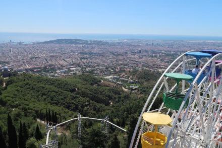 Parque Tibidabo - Barcelona © Viaje Comigo