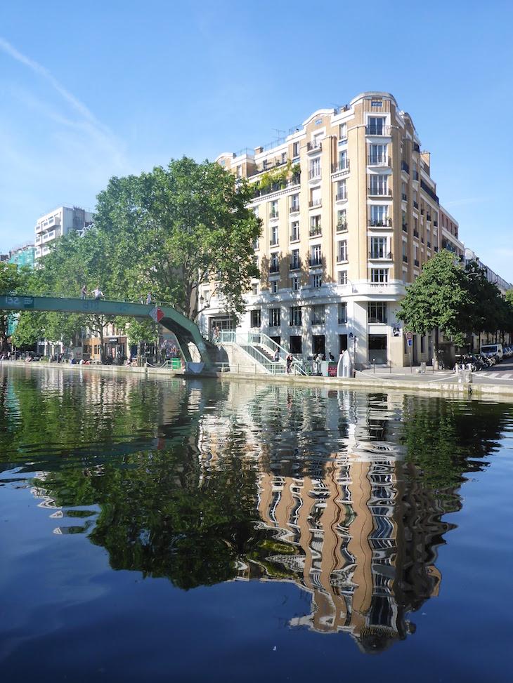 Canal Saint-Martin, Paris, França © Viaje Comigo