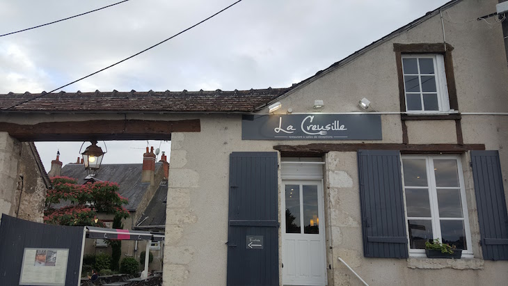 Restaurante La Creusille - Blois - Loire - França © Viaje Comigo