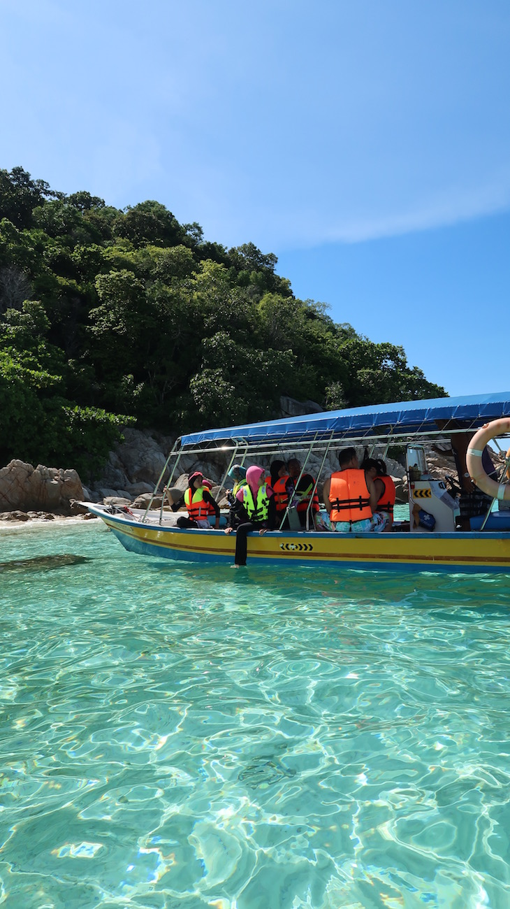 Ilhas Perhentian - Malásia © Viaje Comigo