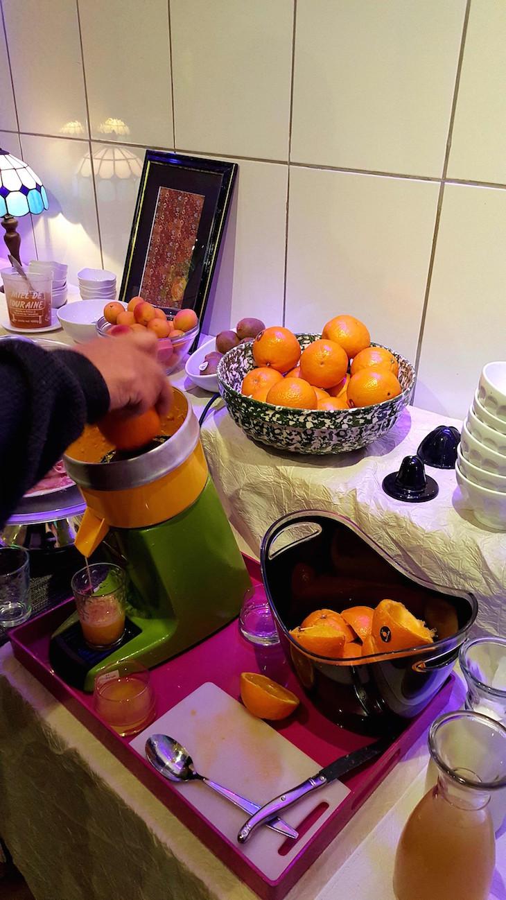 Pequeno-almoço no Hotel Troglododo, Azay-le-Rideau, Vale do Loire, França © Viaje Comigo
