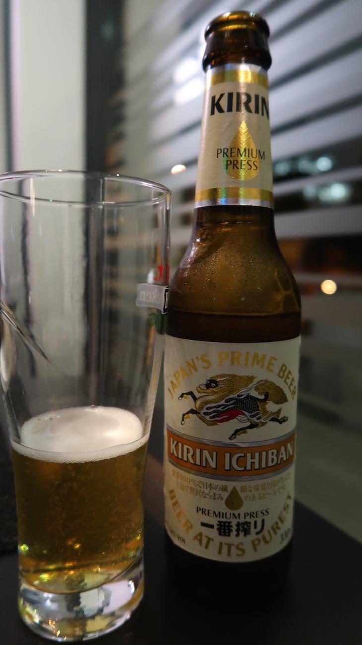 Cerveja japonesa - Sushisan Porto © Viaje Comigo