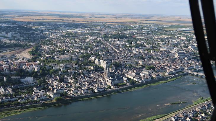Voo com a Loisirs Loire Valley © Viaje Comigo