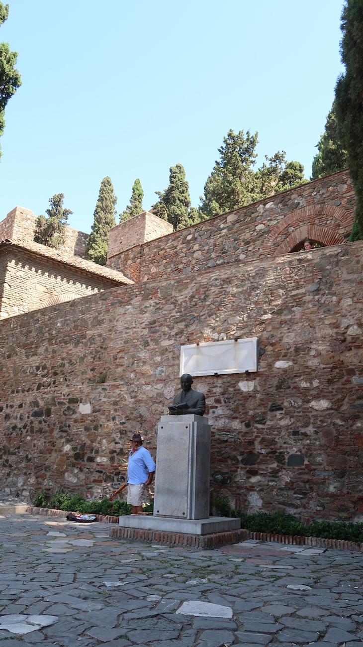 Alcazaba de Málaga - Espanha © Viaje Comigo