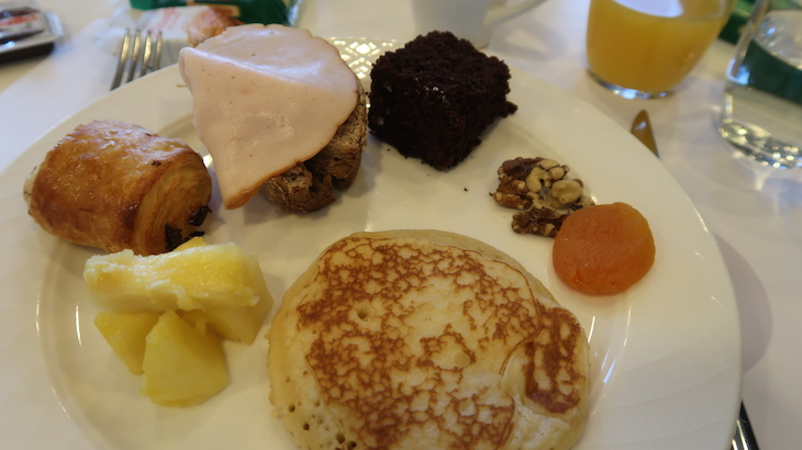 Pequeno-almoço do Novotel Genova City, Génova, Itália © Viaje Comigo