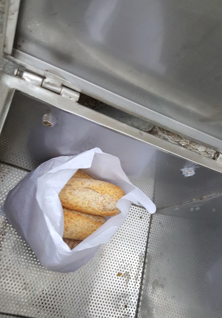 Pão fresco na Casa da Visa © Viaje Comigo
