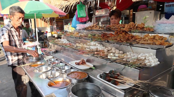 Perto de Chew Jetty George Town - Penang - Malásia © Viaje Comigo