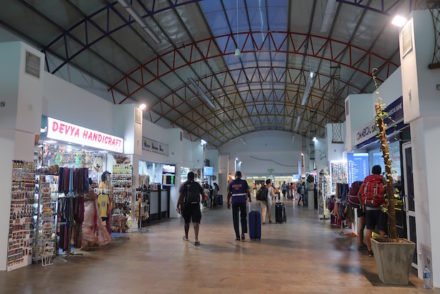 Aeroporto de Colombo, Sri Lanka © Viaje Comigo