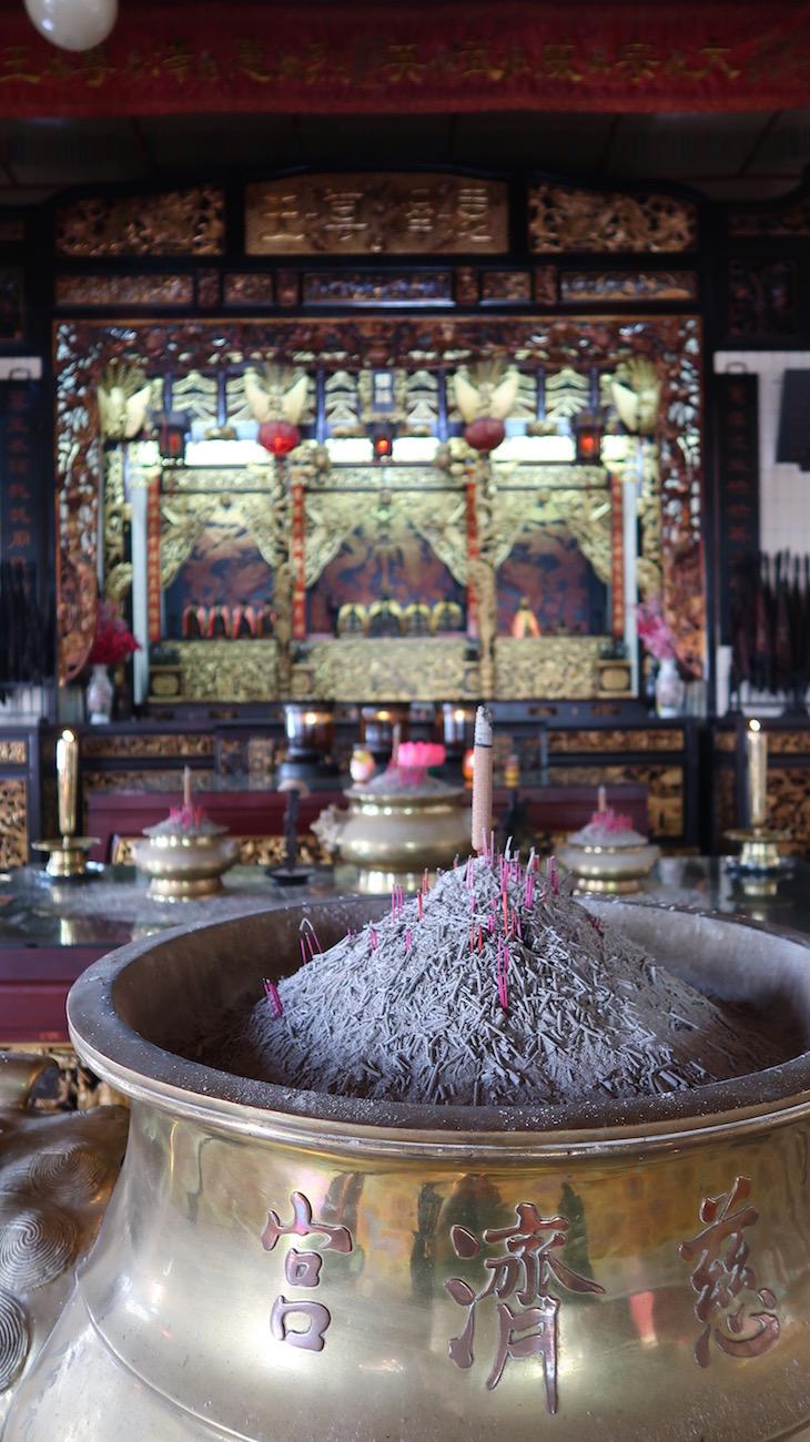 Templo Yap Kengsi, George Town, Penang, Malásia © Viaje Comigo