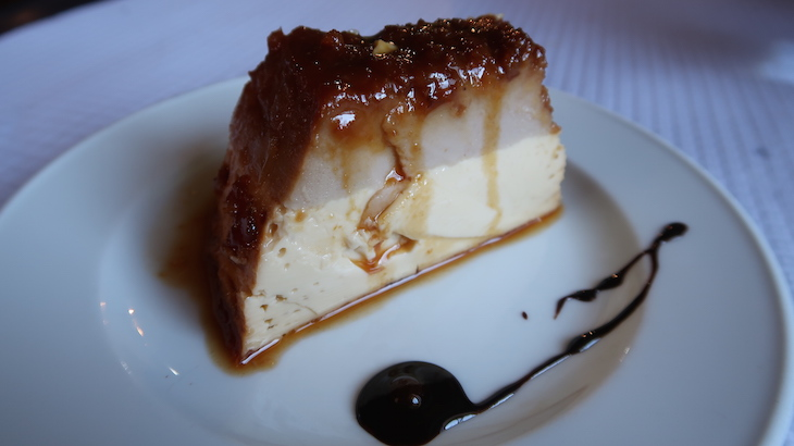 Pudim de castanha - Restaurante Dom Gabriel - Trancoso © Viaje Comigo