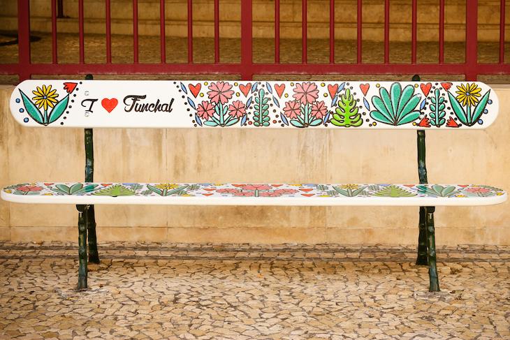 Bancos com Arte-Funchal- Madeira © Débora Pinto
