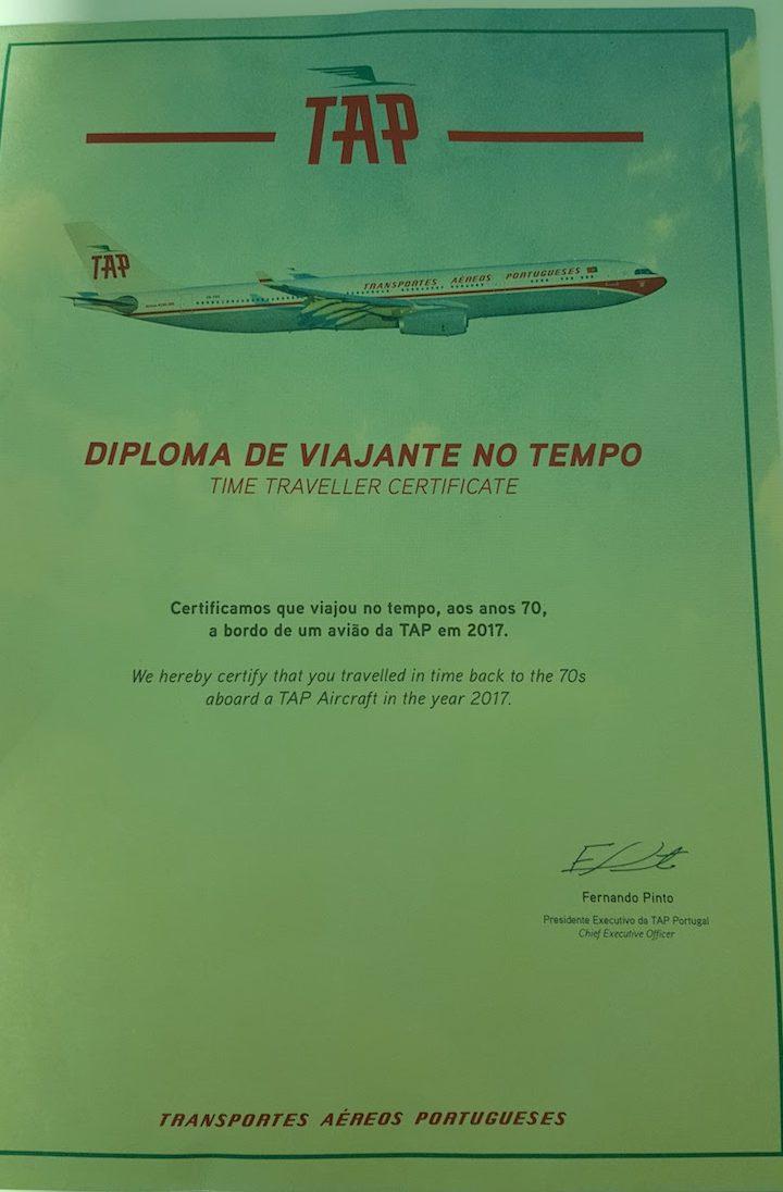 Retrojet TAP para Recife © Viaje Comigo