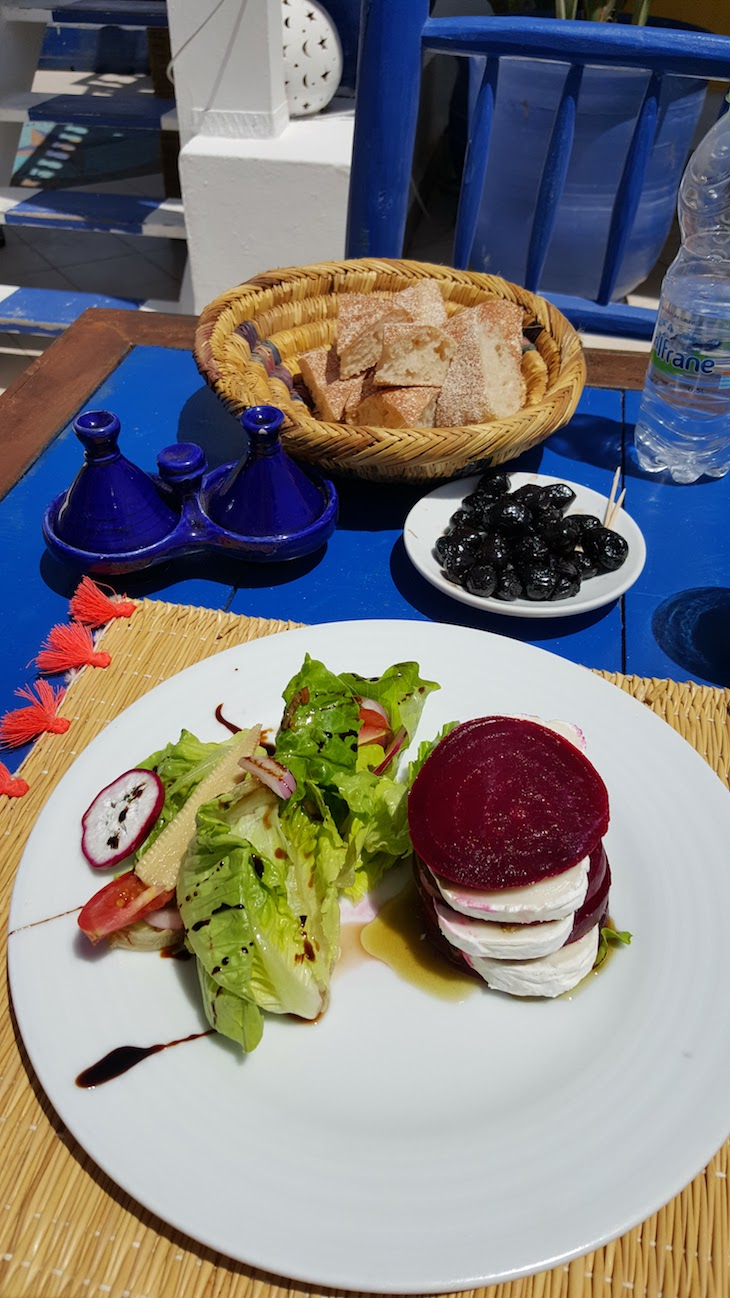 Restaurante Taros Essaouira - Marrocos © Viaje Comigo