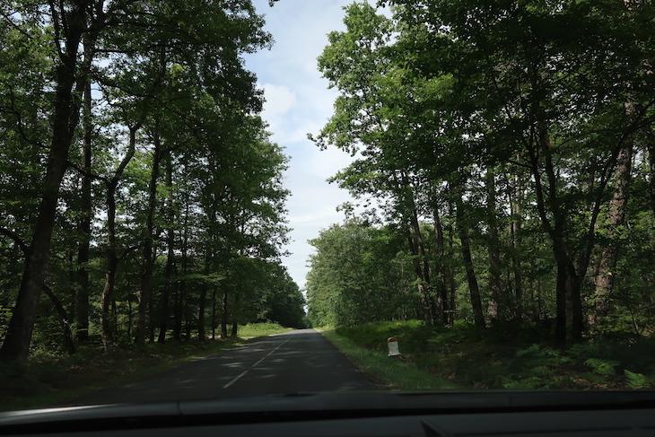 Na estrada no Vale do Loire - França © Viaje Comigo