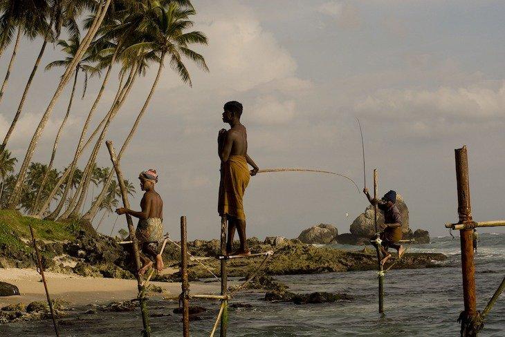 Pescadores no Sri Lanka - Foto de dghchocolatier ©Pixabay