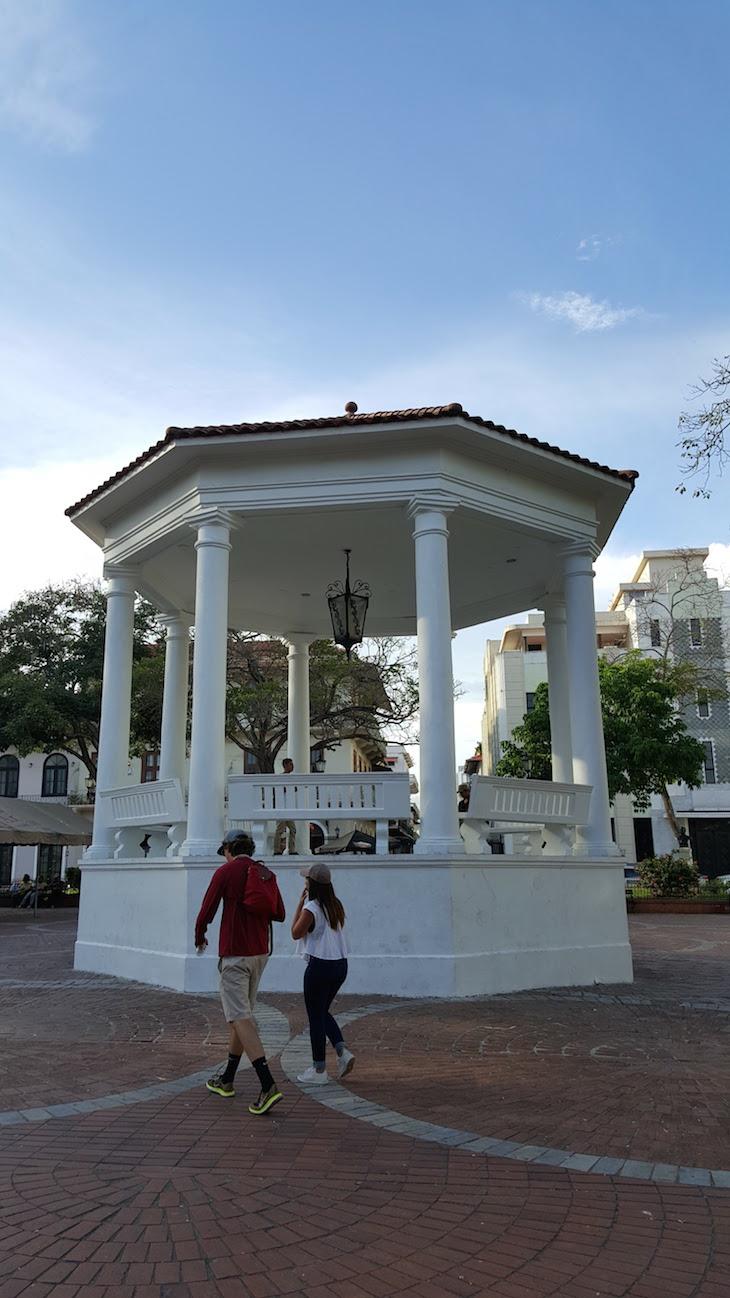Plaza de la Independencia - Centro Histórico da Cidade do Panamá © Viaje Comigo