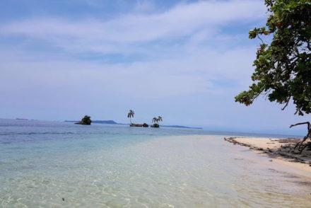 Praia Cayo Coral - Bocas del Toro, Panamá © Viaje Comigo