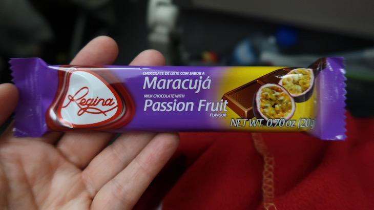 Chocolates Regina - Retrojet TAP para Recife © Viaje Comigo