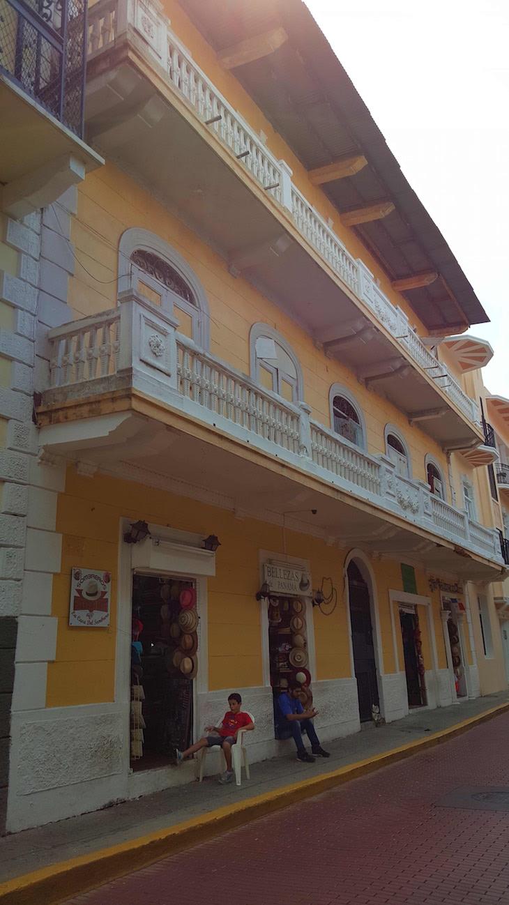Ruas do Centro Histórico da Cidade do Panamá © Viaje Comigo