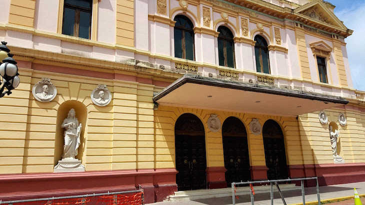 Teatro no Centro Historico da Cidade do Panamá © Viaje Comigo