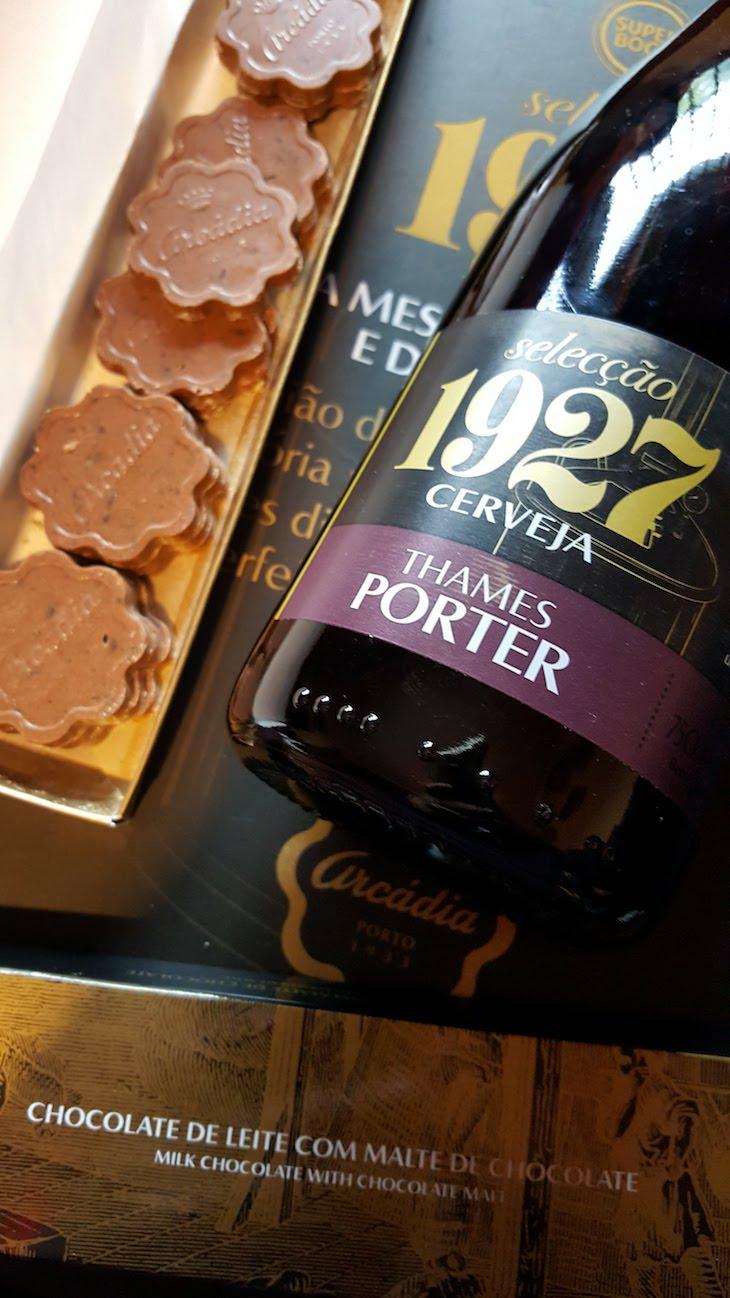 Thames Porter e Chocolates Arcádia © Viaje Comigo