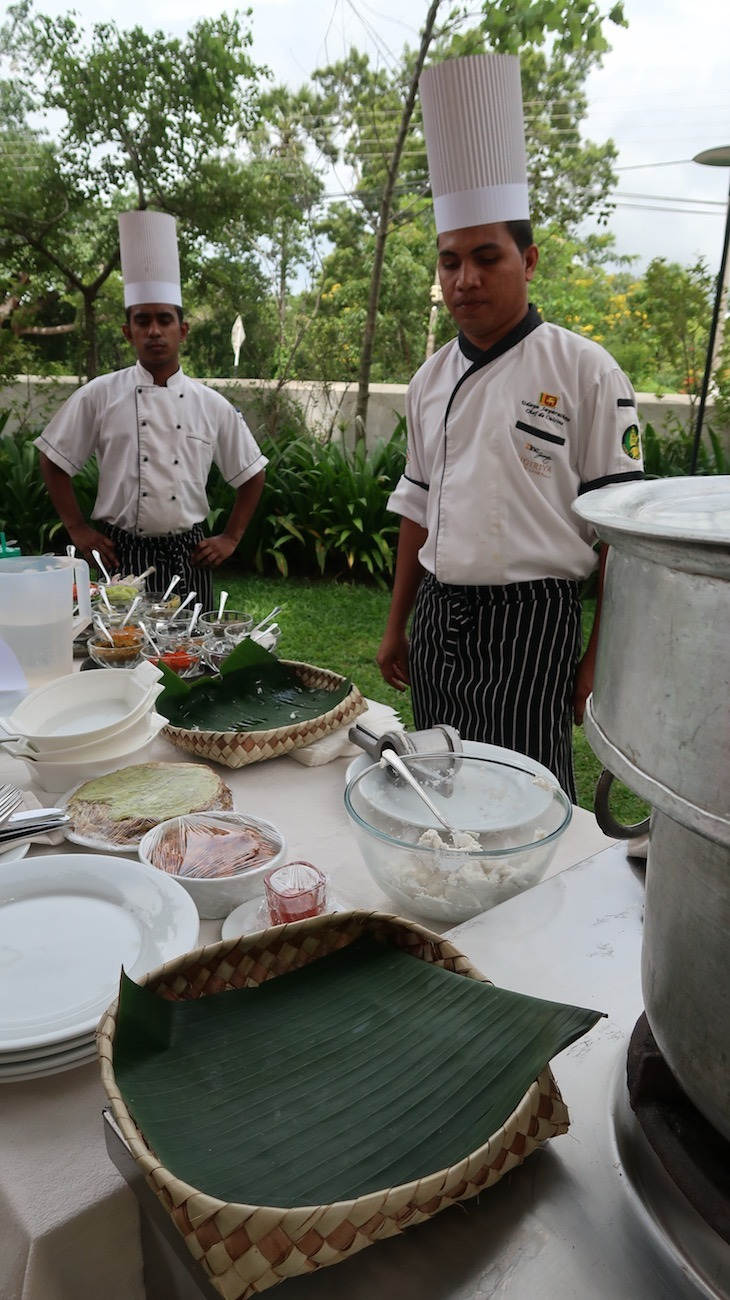 Workshop de culinária - Zinc Journey Sigiriya - Sri Lanka © Viaje Comigo