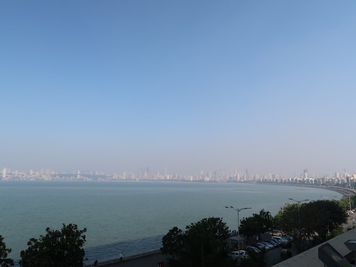 Vista de Bombaim do hotel Trident Nariman Point- Bombaim - India © Viaje Comigo