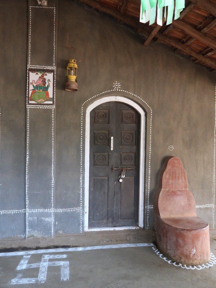Entrada do Museu -Pinguli -Sindhudurg - India © Viaje Comigo