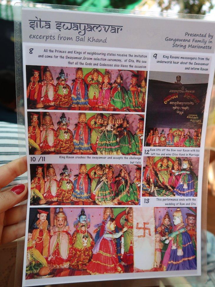 Cenas das marionetas - Pinguli -Sindhudurg - India © Viaje Comigo
